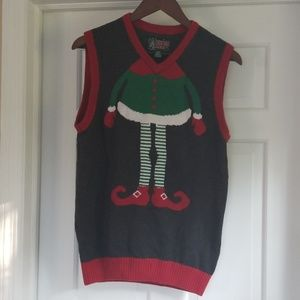 Best ugly Christmas sweater vest.